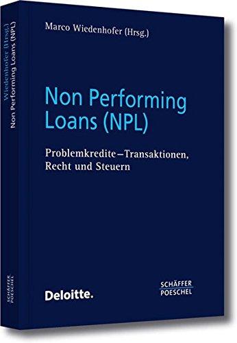 Non Performing Loans (NPL): Marco Wiedenhofer