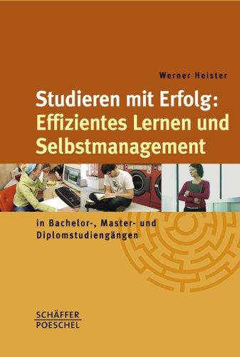 9783791026435: Studieren mit Erfolg: Effizientes Lernen und Selbstmanagement: in Bachelor-, Master- und Diplomstudieng�ngen