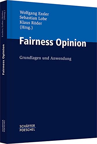 Fairness Opinion: Wolfgang Essler