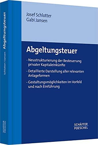 Abgeltungsteuer: Josef Schlotter