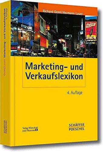 9783791027982: Marketing- und Verkaufslexikon