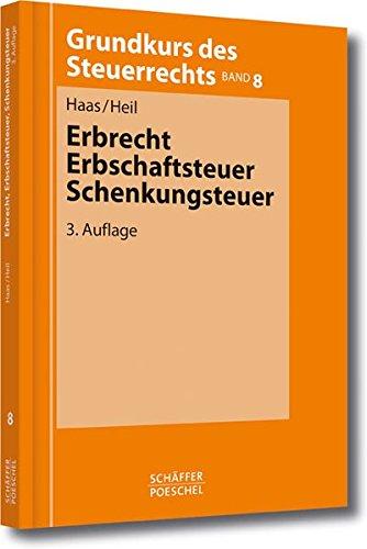 9783791028323: Erbrecht, Erbschaftsteuer, Schenkungsteuer