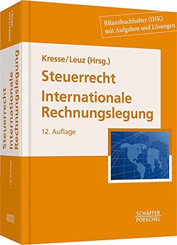 Steuerrecht, Internationale Rechnungslegung: Werner Kresse