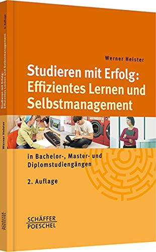 9783791028804: Studieren mit Erfolg: Effizientes Lernen und Selbstmanagement: in Bachelor-, Master- und Diplomstudieng�ngen