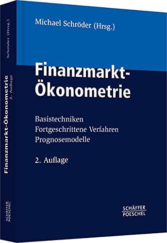 Finanzmarkt-Ökonometrie: Michael Schröder