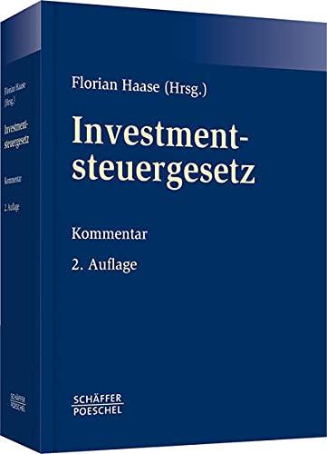 Investmentsteuergesetz: Florian Haase