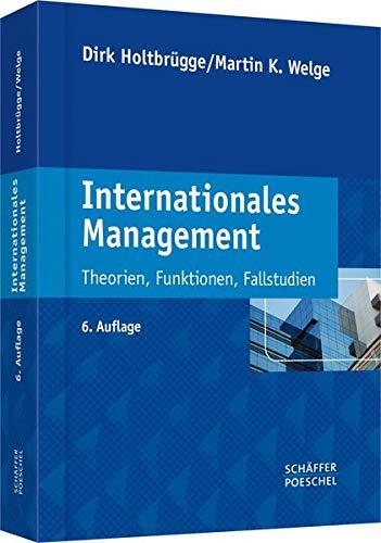 9783791034072: Internationales Management