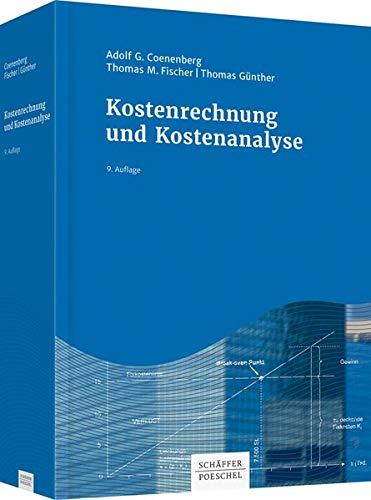 9783791036120: Kostenrechnung und Kostenanalyse