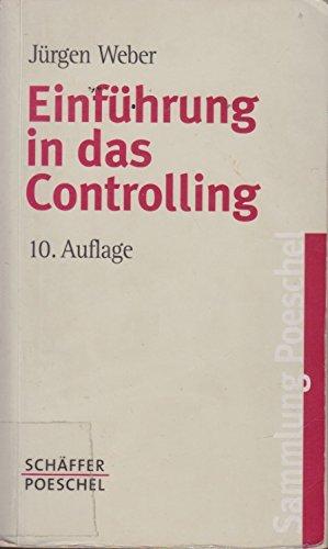 9783791092430: Einführung in das Controlling.