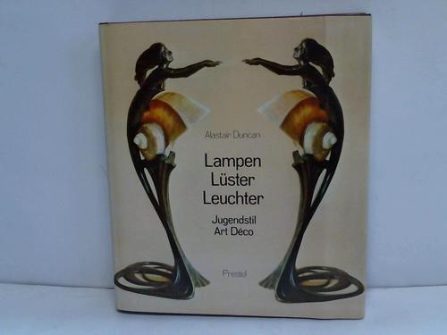 9783791304724: Lampen - Lüster - Leuchter. Jugendstil und Art Deco