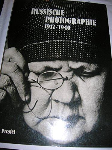 9783791306483: Russische Photographie: 1917-1940