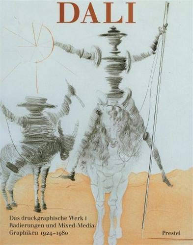 9783791312859: Dali Catalogue of Etchings 1924-1980 (English and German Edition)