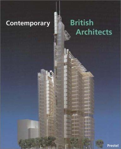 9783791313498: Contemporary British Architects (Architecture S.)