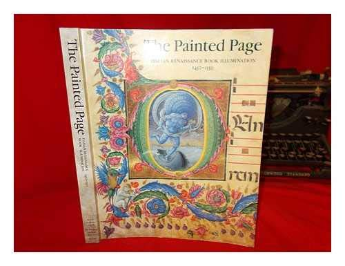 The Painted Page.: Alexander, Jonathan J. G. (ed.)