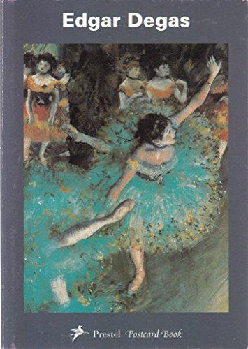 Prestel Postcard Books, Edgar Degas: Edgar Degas