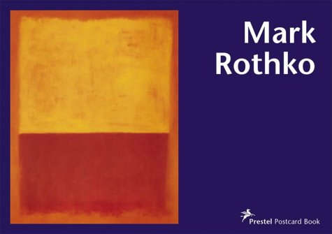 9783791329819: Mark Rothko Postcard Book (Prestel Postcard Books S.)