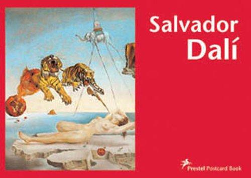 9783791330914: Salvador Dalí (Prestel Postcard Book)