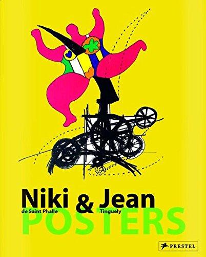 9783791334042: Niki de st phalle & jean tinguely posters /français/anglais/allemand