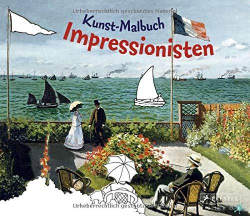 9783791337913: Kunst-Malbuch Impressionisten