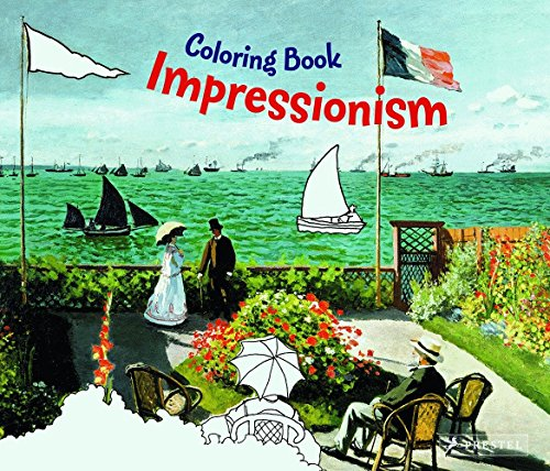 9783791337920: Impressionism Coloring Book