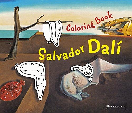 9783791338880: Coloring Book Dali (Colouring Book)