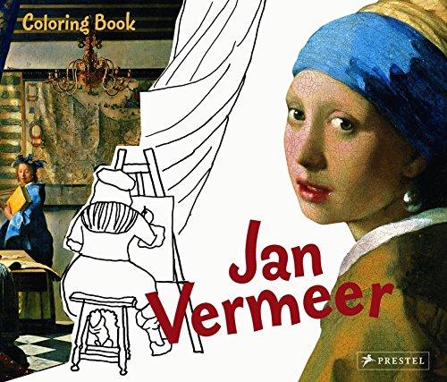 9783791339887: Coloring Book Jan Vermeer