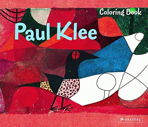 9783791341057: Paul Klee Coloring Book