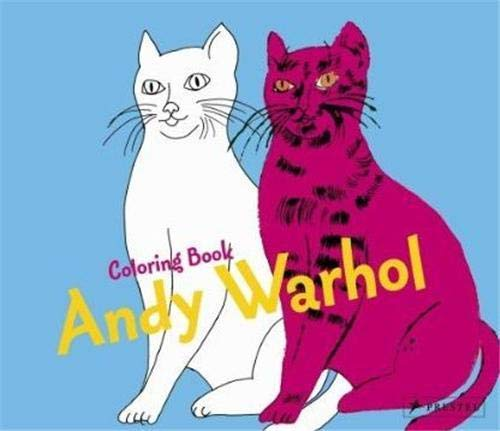 9783791341705: Coloring Book Andy Warhol