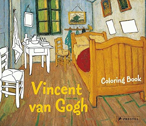 9783791343310: Coloring Book Vincent Van Gogh (Prestel Coloring Books)