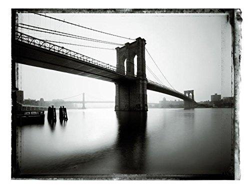 9783791344027: New York Sleeps - Christopher Thomas. Collector's Edition Brooklyn Bridge