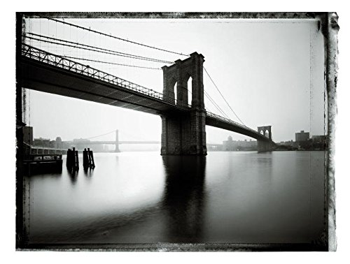 9783791344027: New York Sleeps - Christopher Thomas. Collector's Edition Brooklyn Bridge