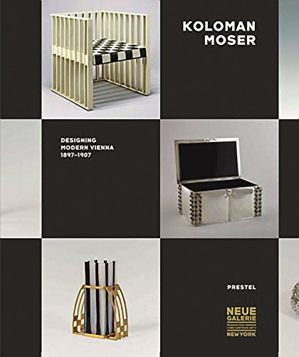 9783791352947: Koloman Moser Designing Modern Vienna 1897-1907 /Anglais