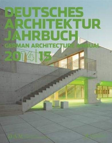 German Architecture Annual 2014/15: Peter Cachola Schmal