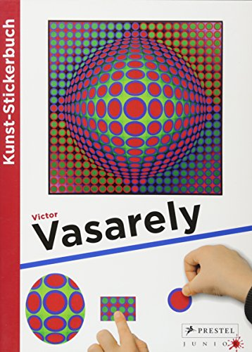 9783791370019: Kunst-Stickerbuch Victor Vasarely