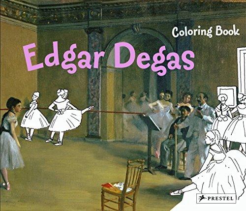 9783791370644: Edgar Degas: Coloring Book