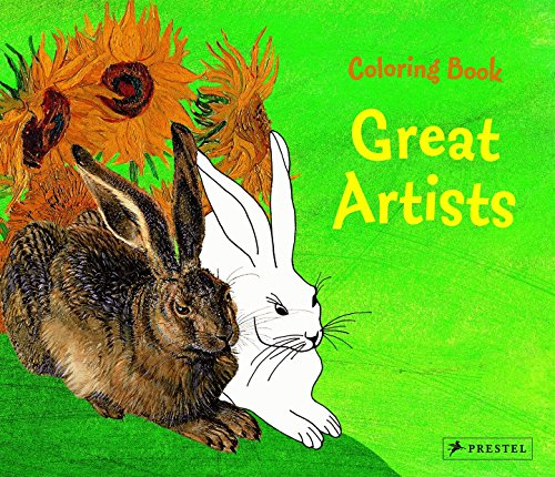 Coloring Book: Great Artists: Prestel Publishing