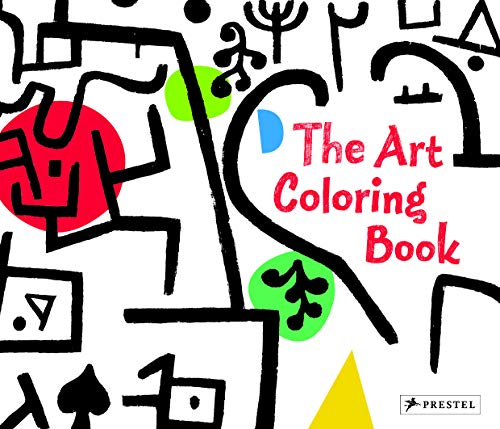 9783791371085: The Art Coloring Book