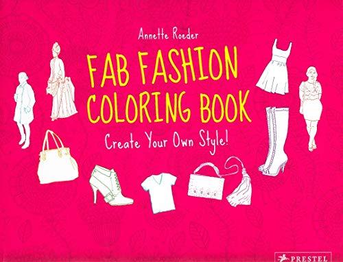 9783791371276: Fab Fashion: Coloring Book