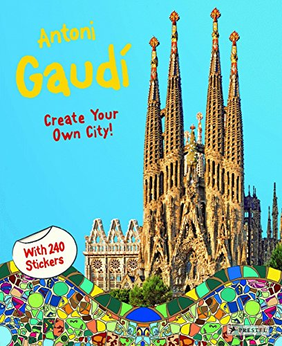 Antoni Gaudi Create Your Own City Sticker: Prestek