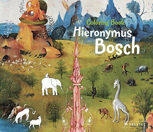 9783791371764: Hieronymus Bosch: Coloring Book