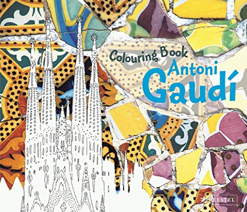 Colouring Book Antoni Gaudi /Anglais: Collectif