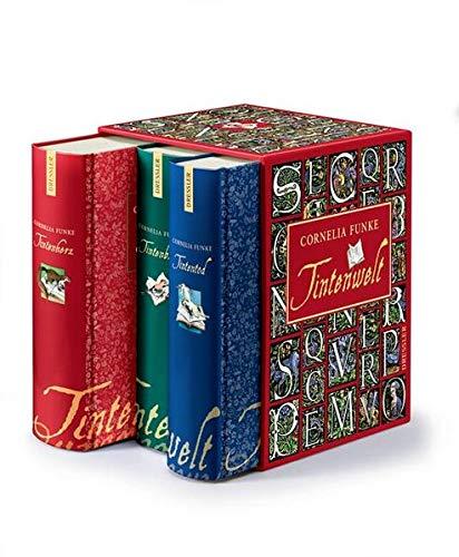 9783791504889: Tintenwelt - Tintenherz / Tintenblut / Tintentod. 3 Bände im Schuber