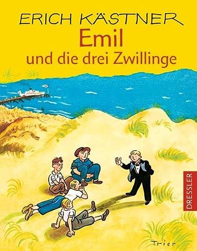 Emil und die drei Zwillinge: Die zweite Geschichte von Emil und den Detektiven - Erich Kästner
