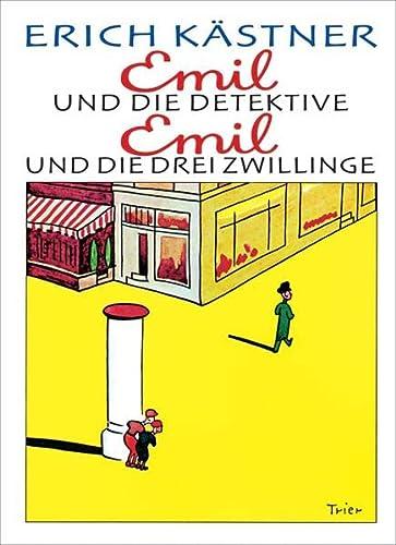9783791530376: Emil und die Detektive / Emil und die drei Zwillinge - Erich Kästner