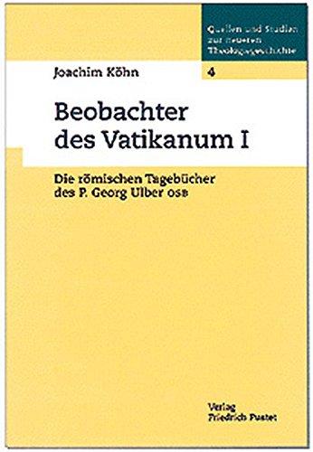 Beobachter des Vatikanum I: Joachim K�hn