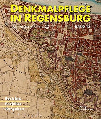 9783791725505: Denkmalpflege in Regensburg
