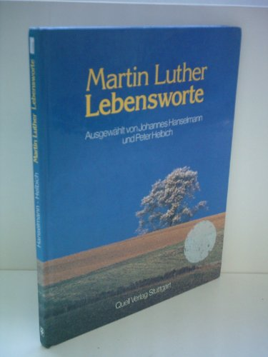 9783791820125: Martin Luther Lebensworte