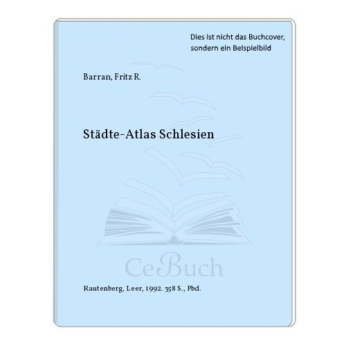 9783792104897: Städte-Atlas (German Edition)
