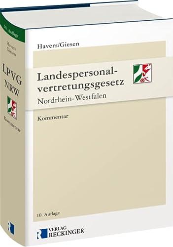 9783792201312: Landespersonalvertretungsgesetz Nordrhein-Westfalen