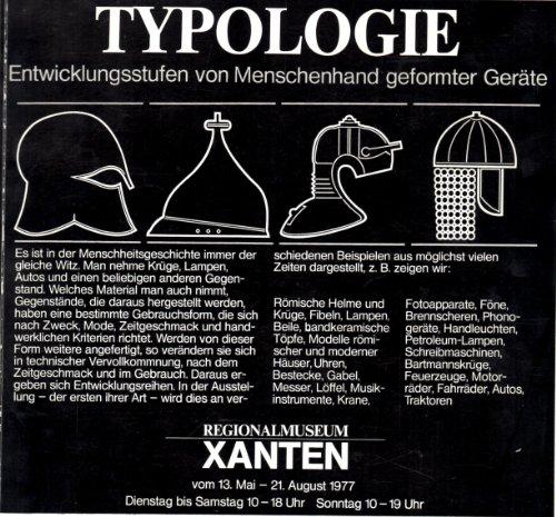 Typologie : Entwicklungsstufen von Menschenhand geformter Geräte: Soechting, Dirk [Red.]: